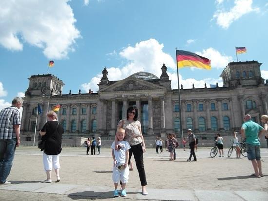 Plenarbereich Reichstagsgebäude: Красота!