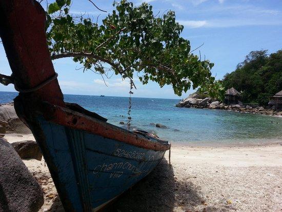 Charm Churee Villa : 2nd private beach