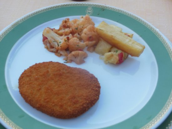 Grand Hotel Capodimonte: Excellent vegan food