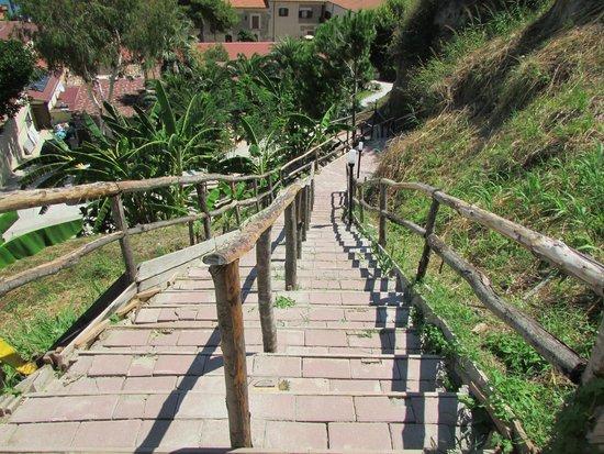Villaggio Torre Sant'Irene: scala