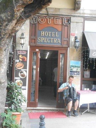 Hotel Spectra: batiment de l'hotel