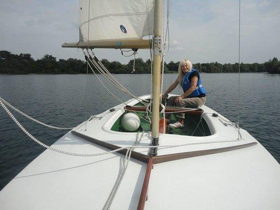 Aasee Bocholt: segeln