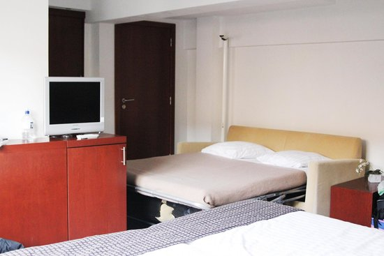 Portinari Hotel: a bit cramped for a junior suite...