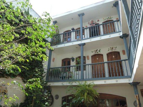 Hotel Dona Esther: Blick auf die Zimmer