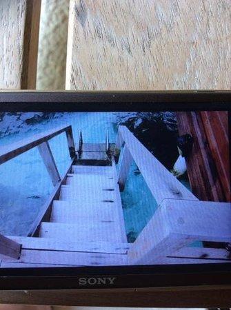 Anantara VeliMaldivesResort : slippery staircase