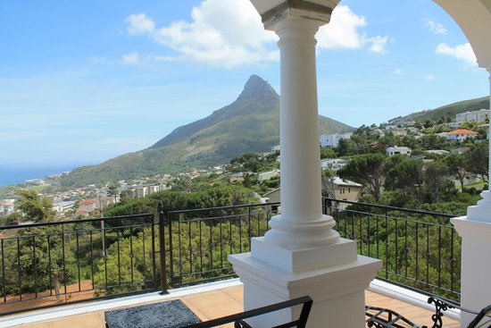 30 Fiskaal Road Guest House: View from the Penthouse (Lion's Head)
