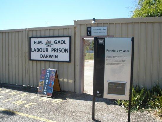 Fannie Bay Gaol: Entrance to Gaol