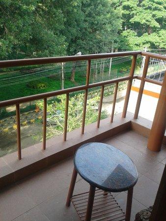 Parklane Hotel: balcony view