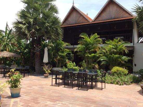 Battambang Resort : le restaurant