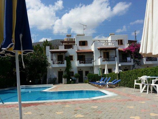 Vlychada Apartments: piscina