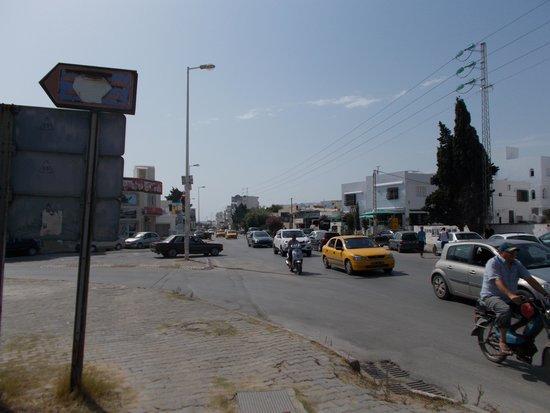 Residence la Paix : eigensinniger Autoverkehr