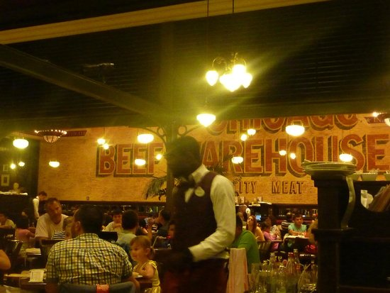 The Steakhouse : Steakhouse Disney Village