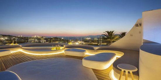 Andronikos Hotel Mykonos: Sky Bar at Andronikos Hotel : is the new spot which has recently been added to the overall facil