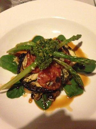 Deja Vu Restaurant: the vegetarian plate