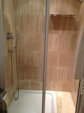 Hotel Alpi: Shower room