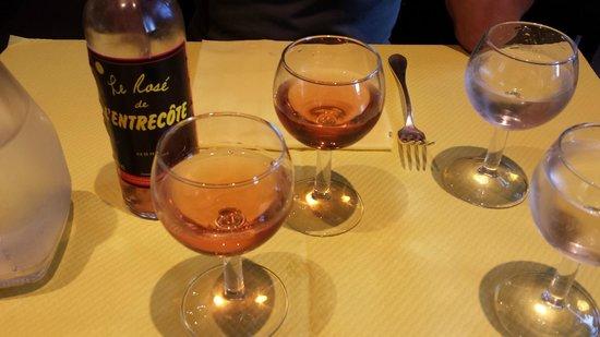 L'Entrecote : vino