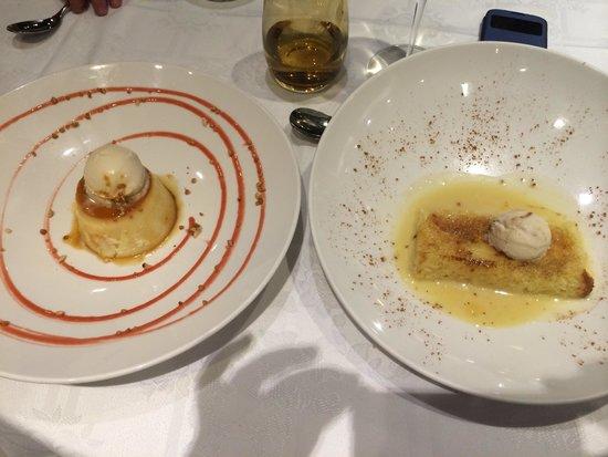 Restaurante-Arrocería El Rincón del Faro: Unos postres magnificos
