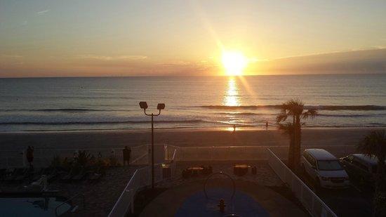 Hampton Inn Daytona Beach/Beachfront: Balcony View Hampon Inn Daytona Beach