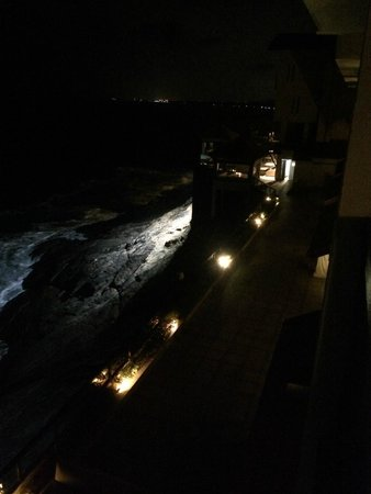 The Leela Kovalam Beach: view from room