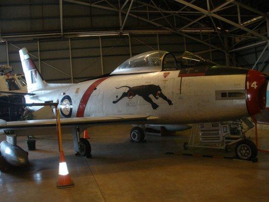 Australian Aviation Heritage Centre : CAC Sabre