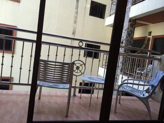 Chang Residence: Балкон