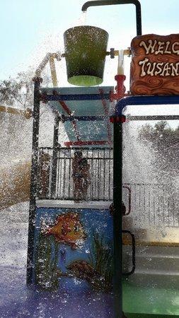 Tusan Beach Resort: Мини аквапарк - стал для нас неожиданным открытием, дети были в восторге!