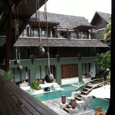 Mai Samui Resort & Spa: Vue depuis le lobby / View from the Lobby