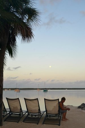 Sunset at Hampton Inn Key Largo