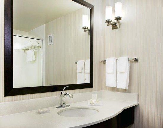 Hilton Garden Inn Portland Airport: Guest Bathroom