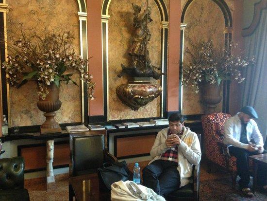 Eden Hotel Wolff: Lobby Area