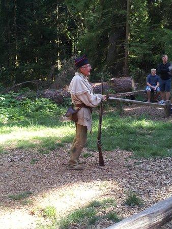 Fort Clatsop National Memorial: Historia teatralizada