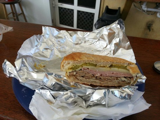 Ziggy's Island Market : Great Cuban sandwiches!