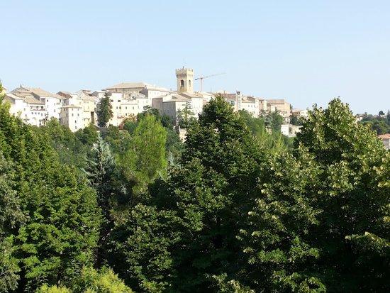 Gallery Hotel Recanati: Panorama dalla stanza