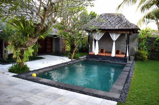 The Zala Villa Bali: Pool area.