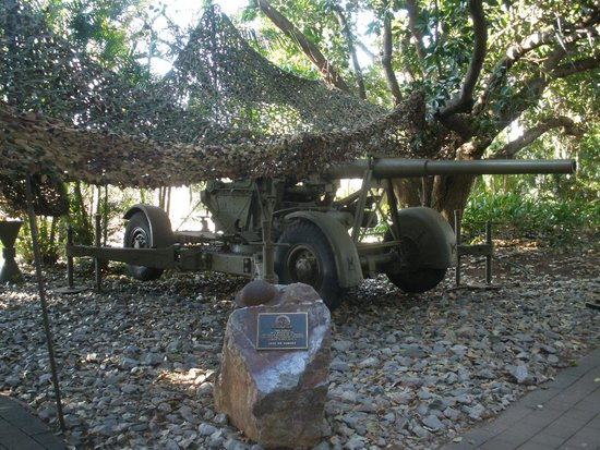 Defence of Darwin Experience: Mobile Artillery Pieces