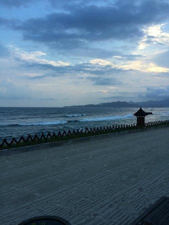 Rama Candidasa Resort & Spa: Liegenbereich