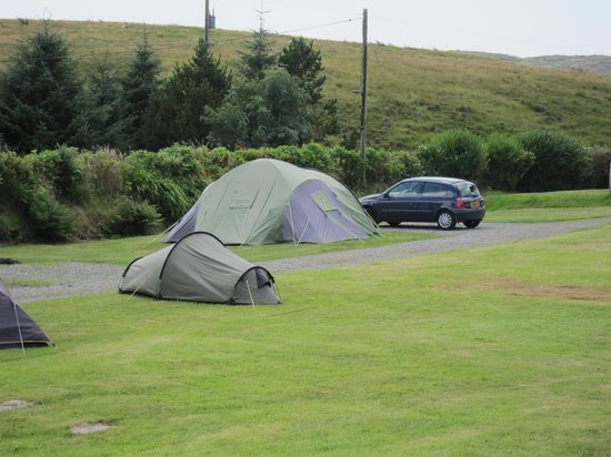 Clifden Camping and Caravan Park: Tent pitch