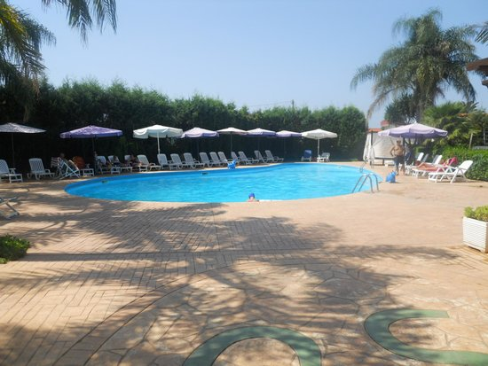 La Costa Smeralda: piscina