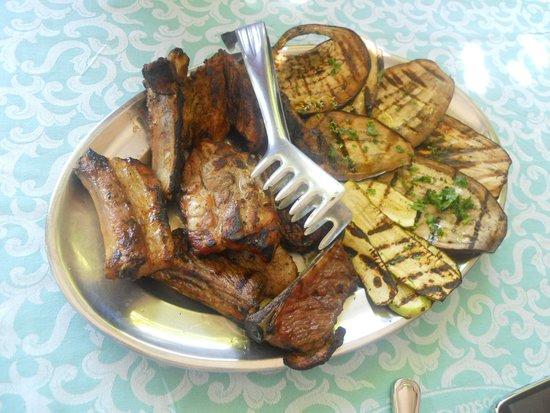 La Costa Smeralda: secondo piatto