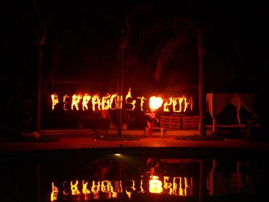 La Costa Smeralda: ferragosto 2014 cena in piscina