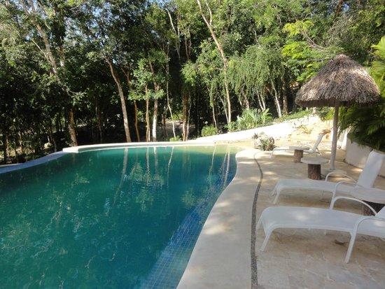 Hotel Oka'an: La piscine
