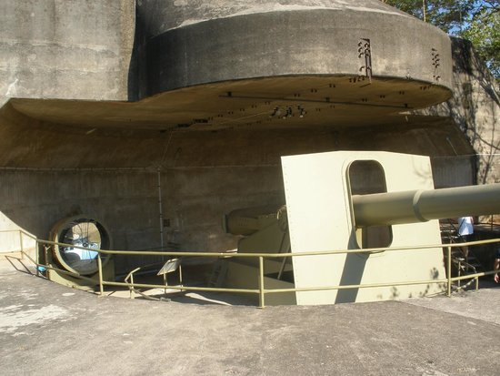 Defence of Darwin Experience: Gun Emplacement, never fired in Anger !