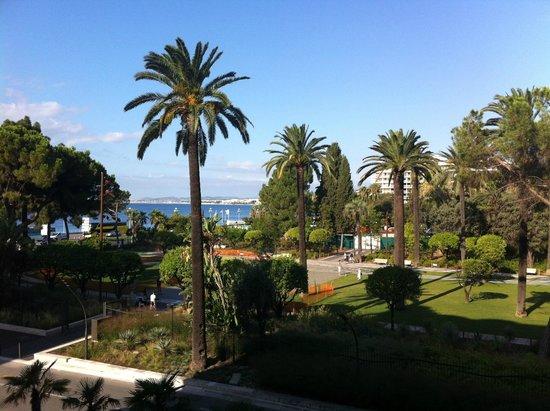 Hotel Albert 1er : Вид из сьюта
