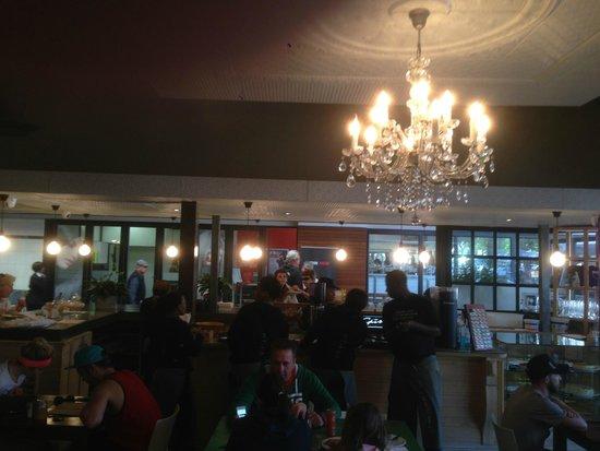 Vovo Telo: counter area of restaurant