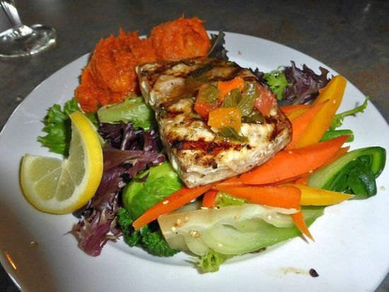 Fernie Cattle Company: Grilled swordfish