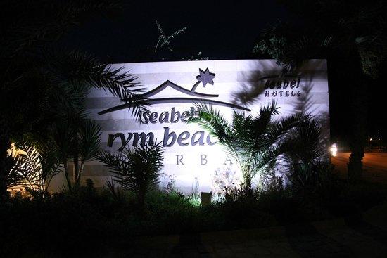 Seabel Rym Beach: Logo entrée du site