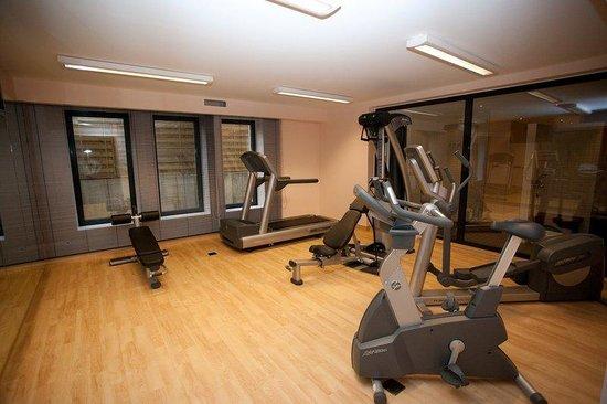 relexa hotel Airport Düsseldorf-Ratingen: Fitnessroom