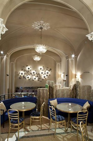 Grand Hotel et de Milan : Caruso Restaurant Interior