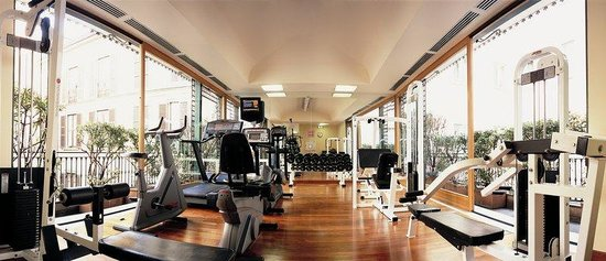 Grand Hotel et de Milan : Fitness Room