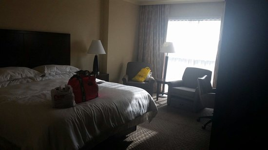 Sheraton Myrtle Beach Convention Center Hotel: Our 11th floor room